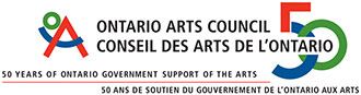 Ontario Arts Council 50th Anniversary logo